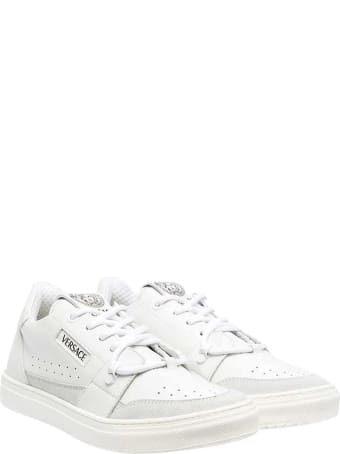 Young Versace White Sneakers