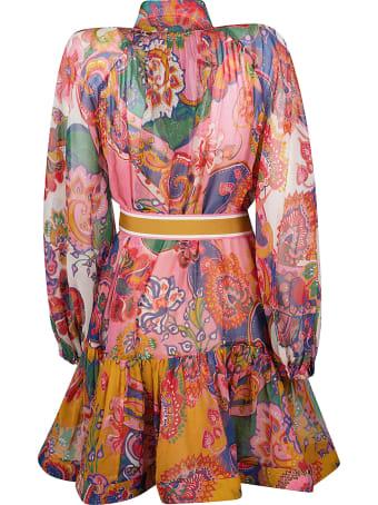 Zimmermann Printed Mid-length Dress
