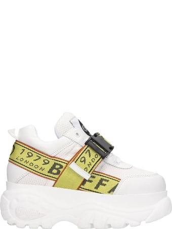 Buffalo Galip Sneakers In White Tech/synthetic