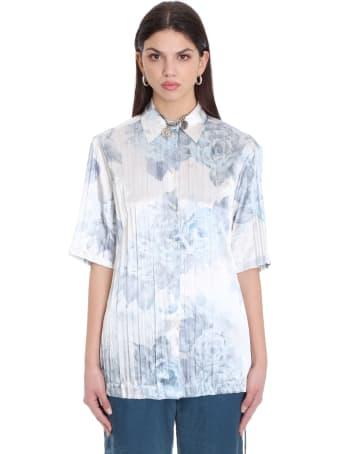 Acne Studios Saffi P  Shirt In White Polyester