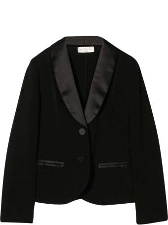 Monnalisa Black Smoking Jacket