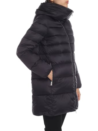 Add Side Zipped Pocket Padded Jacket