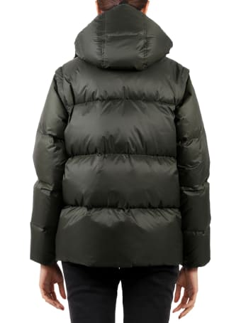 Holubar Green Puffer Jacket