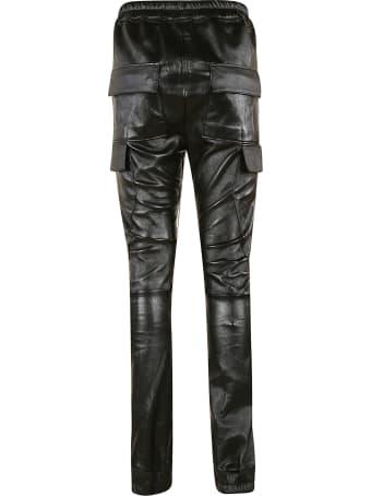 Rick Owens Rib Biker Track Pants