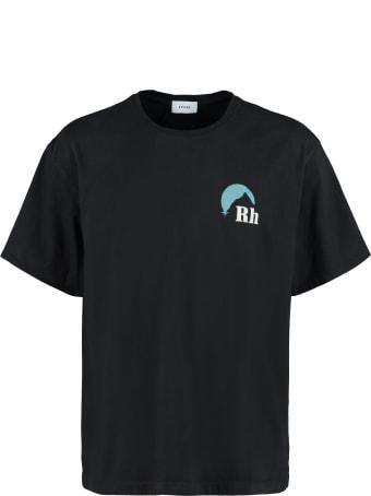 Rhude Oversize Cotton T-shirt