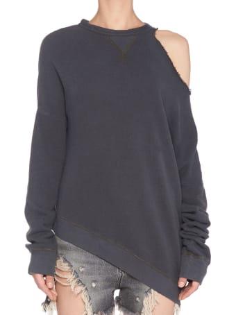 R13 'distorted' Sweatshirt