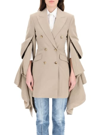 Y/Project Blazer/dress With Gathered Sleeves