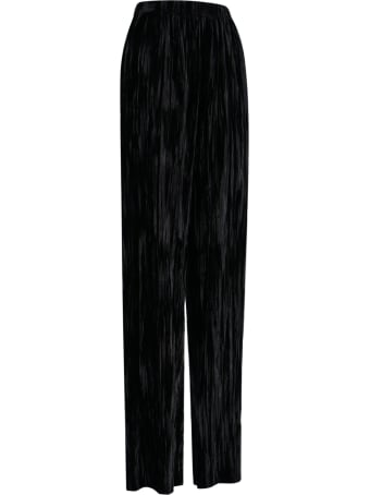 Balenciaga Flared Velvet Pants