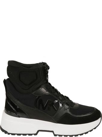 Best price on the market at italist | Michael Kors Michael Kors Damen Wildleder Stiefeletten Stiefel Ankle Boots Mit Absatz