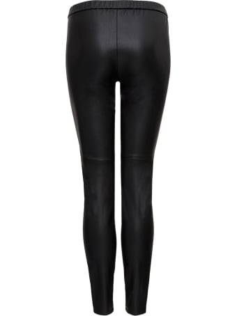 Michael Kors Collection Leatherette Leggings