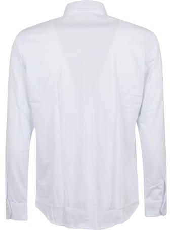 MP Massimo Piombo Polo Camicia Tinta Unita