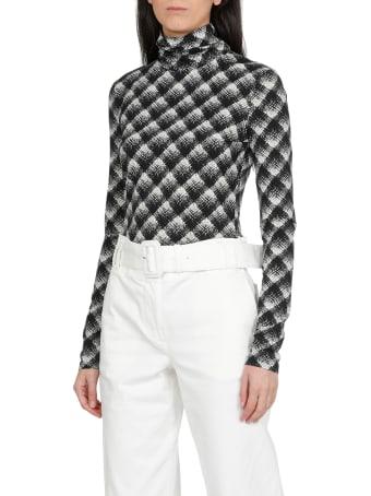Proenza Schouler White Label Check Sweater