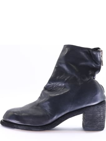 Guidi Black Ankle Boot
