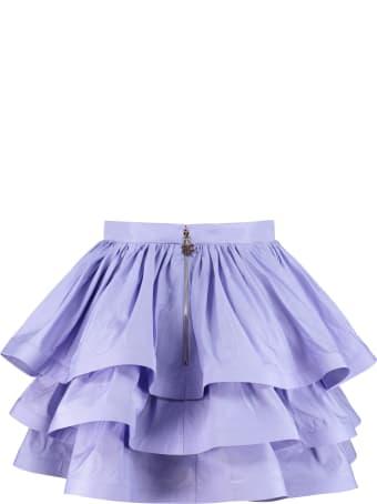 Elisabetta Franchi Celyn B. Ruffled Mini Skirt