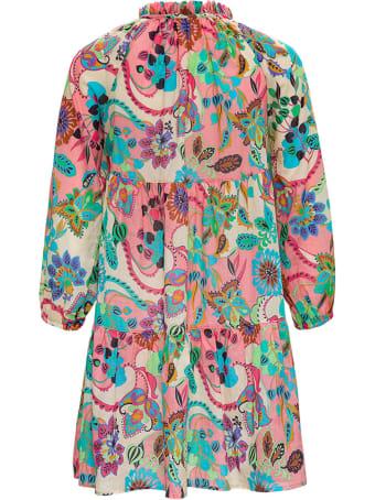 Anjuna Floral Cotton Dress