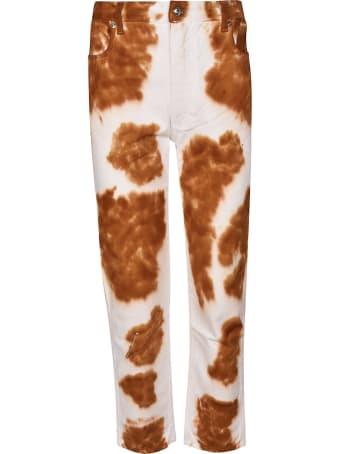 Eckhaus Latta Cow Pattern Jeans