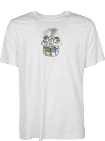 PS by Paul Smith Regular Fit Skull T-shirt