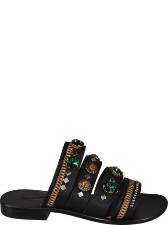 Nanni Embellished Sliders