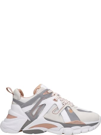Ash Flash 02 Sneakers In White Tech/synthetic