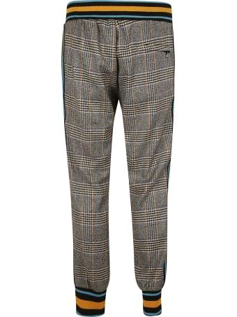 Dolce & Gabbana Rib Checked Trousers