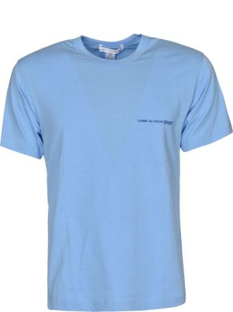 Comme des Garçons Shirt Boy Round Neck Logo Print T-shirt