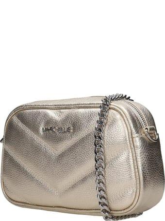 Marc Ellis Bonnie Clutch In Gold Leather