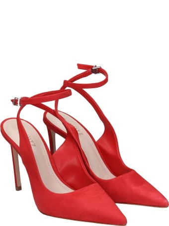 Schutz Pumps In Red Nubuck