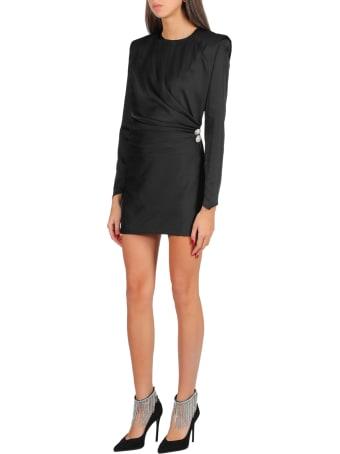 Nineminutes Short Dress With Shoulder Pads