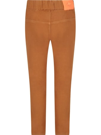 Billybandit Camel Pants For Boy With Iconic Patch