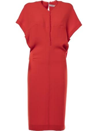 Poiret Frayed Detail Dress