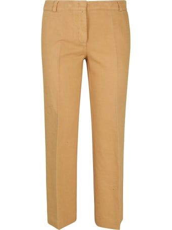 Kiltie & Co. Straight-leg Cropped Trousers
