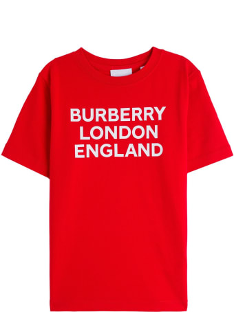 Burberry Cotton T-shirt With Logo Print