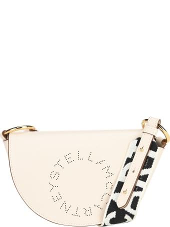 Stella McCartney Mini Stella Logo Saddle Bag