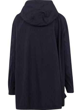 Aspesi Oversize Hooded Zip Jacket