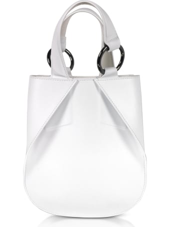 Giaquinto Joss Mini Leather Satchel Bag