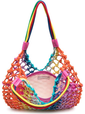 Stella McCartney Kids Multicolor Mesh Handbag