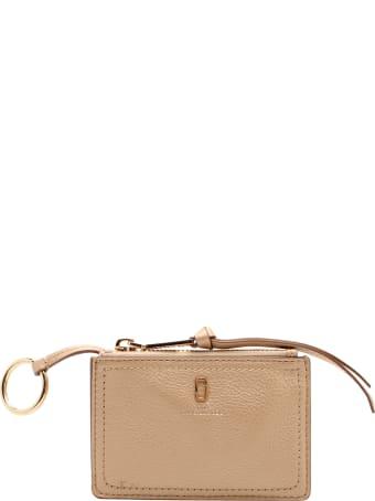 Marc Jacobs 'top Zip' Leaher Wallet