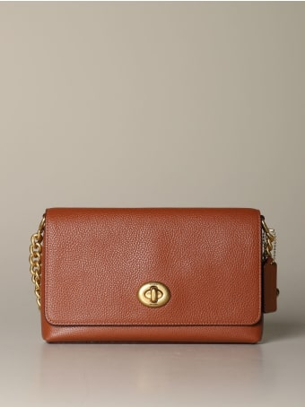 Coach Crossbody Bags Crosstown Coach Bag In Textured Leather