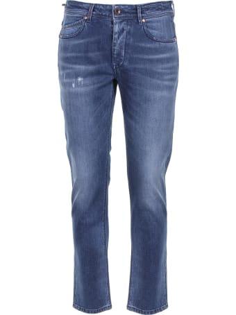Re-HasH Re-hash Cotton Denim Trousers