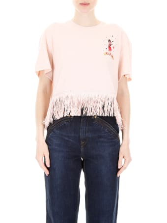 Alanui Fringed Hawaiian T-shirt