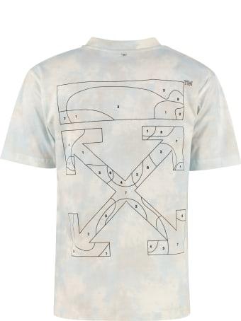 Off-White Arrow Print Cotton T-shirt