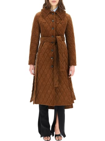 A.W.A.K.E. Mode Quilted Corduroy Coat