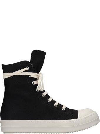 DRKSHDW Sneak Sneakers In Black Canvas