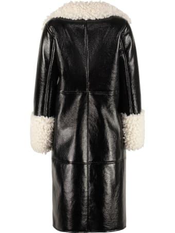 STAND STUDIO Linda Faux Fur Coat