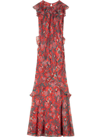 Saloni Tamara Silk Georgette Dress