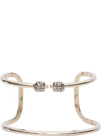 Alexander McQueen Rigid Bracelet Skull