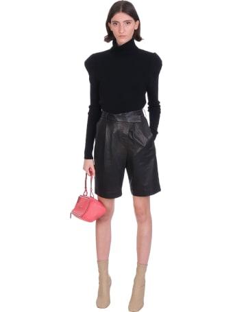 Jacob Lee Knitwear In Black Cashmere