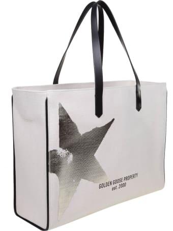 Golden Goose California Shopping In Canvas