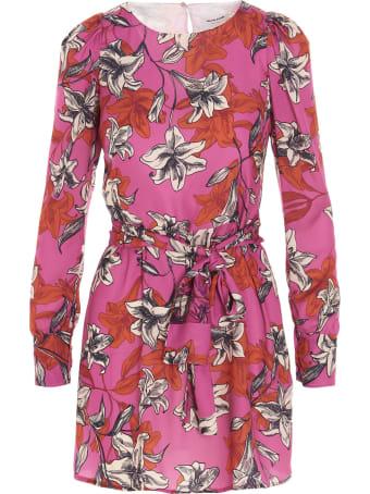 Black Coral 'liz' Dress