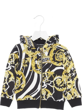 Young Versace 'barocco Icon' Hoodie